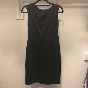 Ann Taylor Black Work Dress